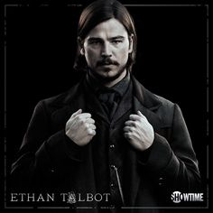 Penny Dreadful | Josh Hartnett as Ethan Talbot | Ethan's true identity revealed. Larry Talbot is the Wolf Man from the old classic movies and remake | https://en.wikipedia.org/wiki/Larry_Talbot | Showtime, season 2
