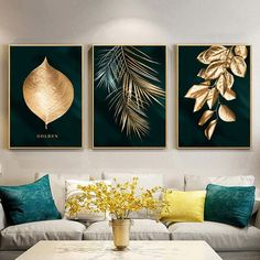 Leaf Wall Art, Abstract Wall Art, Leaf Art, Rooms Home Decor, Home Decor Wall Art, Poster Wall, Poster Prints, Decorating With Pictures, Decoration Pictures