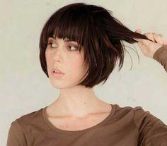 nice 20 Best Short hair with bangs // #bangs #Best #Hair #Short