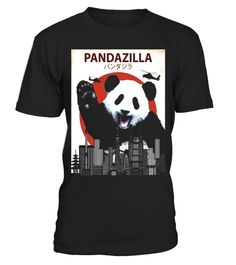 """# Pandazilla Funny Panda T-Shirt 