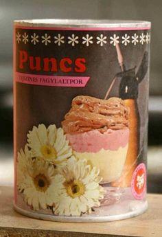 Tejszínes Fagylaltpor Puncs ízben
