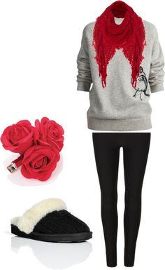 """Comfy Maternity Christmas"" by lobi88 on Polyvore"