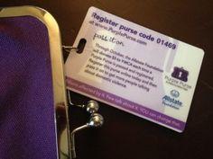 Purple Purse-Domestic Violence Awareness #purplepurse