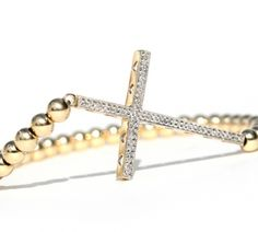 GET THIS at Walk In Closet~ This piece must be pre ordered bc. it is custom made by Martha Calvo w/ real diamonds! Diamond Cross, Macrame Bracelets, Trendy Jewelry, Beaded Jewelry, Bangles, Hair Accessories, Bling, My Style, Diamonds