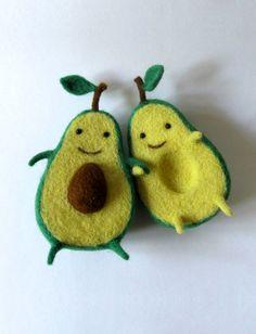Felt Avocado