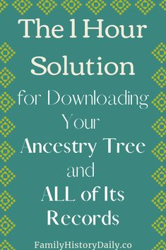 Back Up and Sync Your Ancestry Family Tree with RootsMagic TreeShare - Family Problems Genealogy Search, Family Genealogy, Genealogy Websites, Free Genealogy, Ancestry Tree, Genealogy Organization, Organizing, Family Tree Research, My Family History