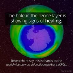I learned something cool on the app: The Hole In The Ozone Layer May Be Healing Discovery Channel Shows, Ozone Layer, Astrophysics, Global Warming, Curiosity, Layers, Thankful, Healing, Science