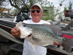 Jim Maack from Wisconsin caught this record carppie near Escalante in Utah. The fish measured inches long and 15 inches around - weighed 3 pounds and 5 ounces. Crappie Fishing Tips, Pike Fishing, Carp Fishing, Best Fishing, Trout Fishing, Fishing Lures, Fishing Tricks, Fishing Rods, Fishing Tackle