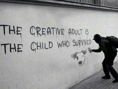 "Sociolatte: ""The creative adult..."" - Ursula K. Le Guin"