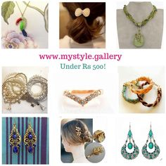 Curated Jewellery under 500 shop now at mystyle.gallery