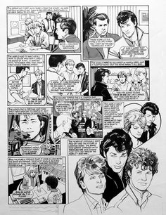 A-Ha - The Story So Far (FIVE pages) by Maureen & Gordon Gray at the Illustration Art Gallery