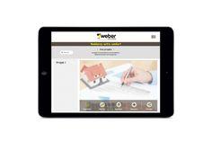 Application mobile sur mesure - Weber