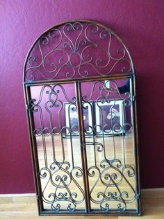 16 Best Wrought Iron Mirrors Images Wrought Iron Iron