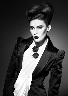 http://professional.estetica.it Hair: Craig Smith for Fruition Hair  Photo: Israel Rivera  Make up: Steve Mena  Styling: Shannon Deluca