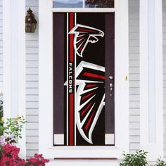 Check out our entire selection of NFL gear, including this Atlanta Falcons Door Banner, at Kohl's. Atlanta Falcons Memes, Atlanta Hawks, Falcon Doors, Nfl Gear, Exterior Doors, Banner, Falcons Gear, Classroom Door, Pride