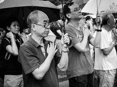 Protest at Hong Lim Park