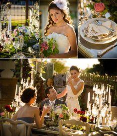 romantic vintage  wedding | Inspired Vendors: Romantic, Vintage Wedding Style : Brides