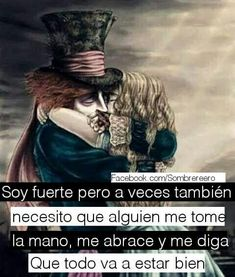 Image about quotes in Frases by AlejaLovatic Beyhive Tumblr Love, Magic Words, Lewis Carroll, Sad Love, Disneyland Paris, Some Words, Tim Burton, Haha, Nostalgia