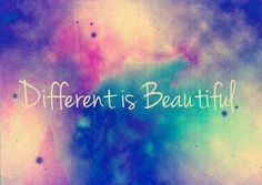 You are unique, you are beautiful <3 Repinned by http://Abundance4Me.net