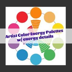 Excited to share this item from my shop: 5 Detailed Color Energy Palettes & Assessment