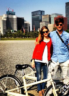 Spotted: Olivia Palermo and Johannes Huebl in Tokyo