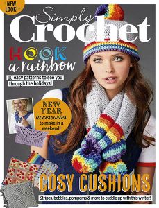 Carol Meldrum has designed us two fabulous crochet necklace patterns that you can hook up for free! Crochet Gratis, Free Crochet, Knit Crochet, Easy Crochet, Magazine Crochet, Knitting Magazine, Crochet Necklace Pattern, Crochet Hooks, Simply Crochet