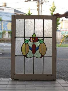 Stained Glass 英国アンティークステンドグラスWS 13925C インテリア 雑貨 家具 Antique ¥32800yen 〆10月27日