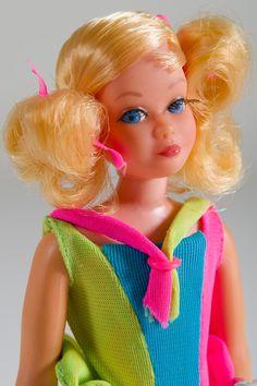 Skipper Dolls for Sale | 1970 Living Skipper Poseable Doll w Swimsuit Model 1117 1147 Vintage ...