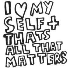 Selfish vs Self-ish