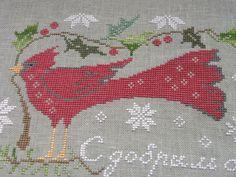 ЛЮБИМОЕ ЗАНЯТИЕ НАТАЛЬИ : Рождественский птиц