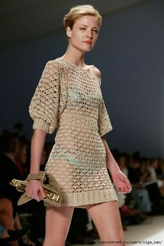 VESTIDO      ♪ ♪ ... #inspiration #crochet  #knit #diy GB