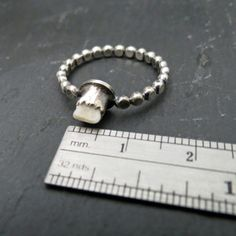 Custom Milk Tooth Ring EXAMPLE ONLY by WispAdornments on Etsy