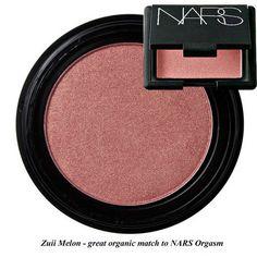 Zuii Organic Mineral Blush in Melon - organic match to NARS Orgasm - Nourished Life