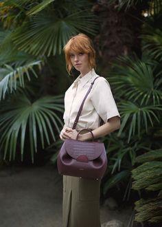 Polene   bag N ° 1 - Trio Bordeaux Crocodile Crocodile, Polene Paris, Must Haves, Handbags, People, Shopper, Vintage, Outfits, Beautiful