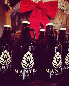 The taproom will be open on Christmas Eve 12-5pm and we will be rockin 2 for 1 growler fills! Stop by and fill up before the holiday! Yoga will be canceled. MERRY CHRISTMAS FROM THE MANTRA FAMILY!  #whatisyourmantra #mantraartisanales #beerfortheholidays #drinklocal #franklinTN