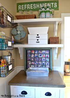 Homework station  #organization #kids #storage