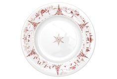 Country Estate Winter Dinner Plate, 11""