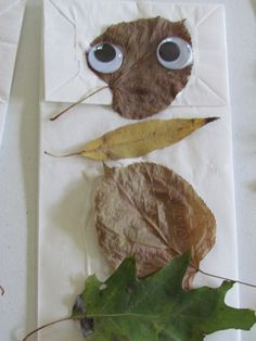 Creating with natural materials by Teach Preschool
