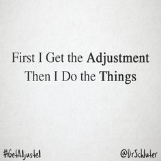 It's #Monday and there's things to be done, but first things first. #getadjusted #tulsa #gonstead #chiropractic #dothethings #firstthingsfirst - - - #tul #tulsaok #chiropractor #chiro #tulsachiropractor #health #healthy #wellness #active #healthylifestyle #spine #posture #pain #body #bones #muscle #subluxation #spinecare #nerves #nervoussystem #happyandhealthy #findthecause #naturallywell