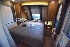 The Lance 2375 Travel Trailer comes with a large bedroom with a queen sized bed and two night stands. Shop for your travel trailer today! Travel Trailer Floor Plans, Rv Accessories, Night Stands, Large Bedroom, Queen Size Bedding, Travel Trailers, Campers, Traveling By Yourself, Relax