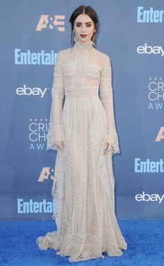 Edgy and Elegant from Lily Collins Best Looks