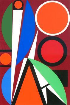 Auguste Herbin - Ohne Titel, 1957