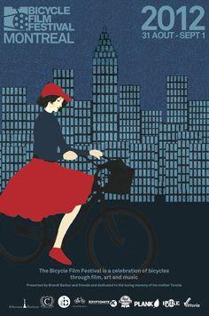 Velo Illustration 032: Bicycle Film Festival BFF 2012 in MontrealSeit 2001 tourt das Bicycle Film Festival BFF durch die Welt, von New York (wo es gegründet wurde) über Montreal, Tokio, Mailand und Paris bis London. Mit ausgewählten Filmen, Ausstellungen und Konzerten zelebriert das BFF alle Stile und Aspekte des Fahrradfahrens.In kanadischen Städten wie Montreal hat sich eine besonders aktive Velo-Szene gebildet, die vom oft ziemlich schrägen Messenger (Velo-Kurier) bis zum gepflegten…