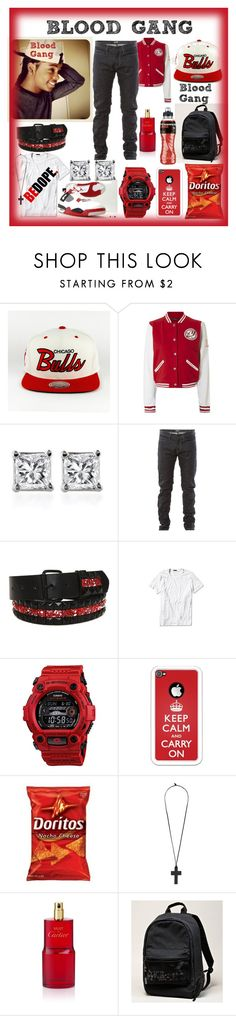 """""""Ace~Blood Gang~"""" by msyorkieluver ❤ liked on Polyvore featuring Jane Norman, Bottega Veneta, Theory, Edition, G-Shock, Forever 21, Cartier and American Eagle Outfitters"""