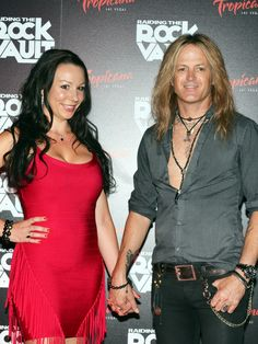 Doug and Daniella Aldrich on the red carpet of opening night of Raiding The Rock Vault at the New Tropicana Hotel and Casino in Las Vegas Daniela_W_Aldrich_Doug_Aldrich_Rock_Vault_Trop_61885.JPG (JPEG Image, 1000 × 1333 pixels) - Scaled (69%)