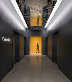 Gensler Oakland Office - ceiling treatment / detail