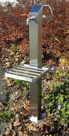 Wasserstelle Im Garten wassersäule srs 1010 mm edelstahl bewässerung zapfstelle zapfsäule