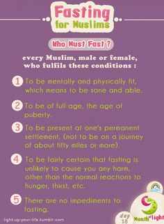 Month Of Light Fasting for Muslims episode (4)