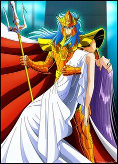 Athena y Poseidon