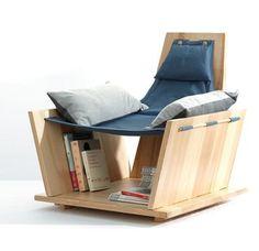 Pacioccò: the hammock armchair